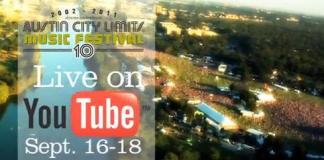 Austin City Limits Festival - Webcast Schedule