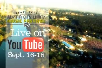 Austin City Limits Festival - Webcast Schedule