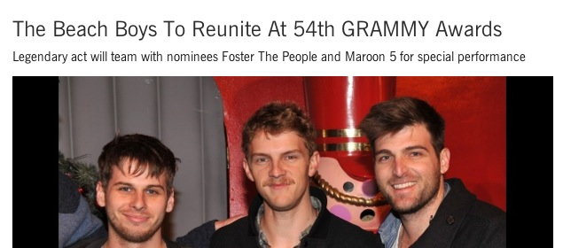 beach boys with foster the people