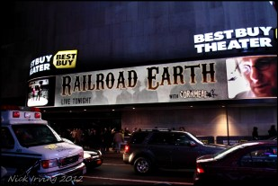Railroad Earth @ Best Buy Theater, NYC 2/25/12