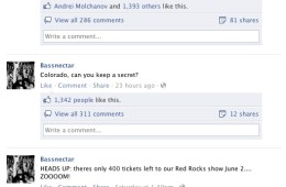 bassnectar red rocks sellout