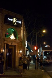 Outside Saint Rocke