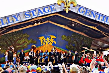 preservation hall photos from jazz fest
