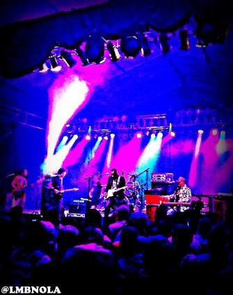 Ivan Neville's Dumpstaphunk @ Bonnaroo 2012 || Photo by Billy Morgan