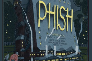 phish bonnaroo 2012 official poster