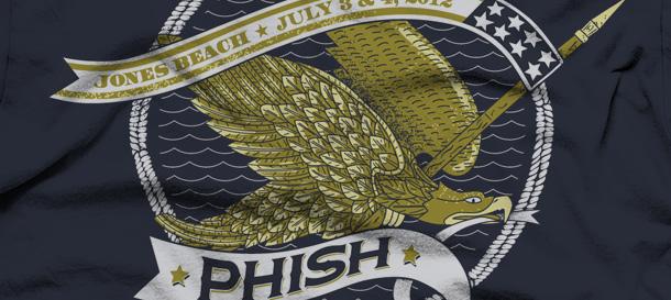 phish jones beach fourth of july