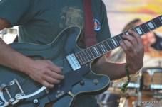 Green Guitar, Brad Barr of The Slip @ Big Meadow Stage, High Sierra 2012
