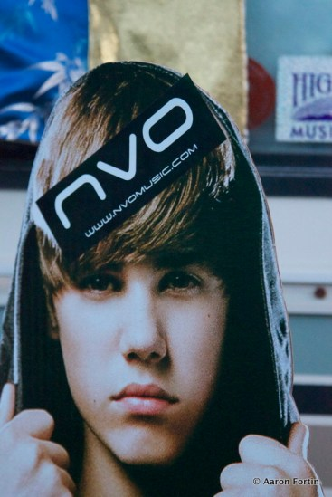 Justin Bieber got NVO'd