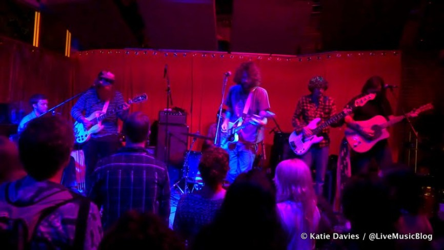 Futurebirds, opening for White Denim at Brick & Mortar Music Hall