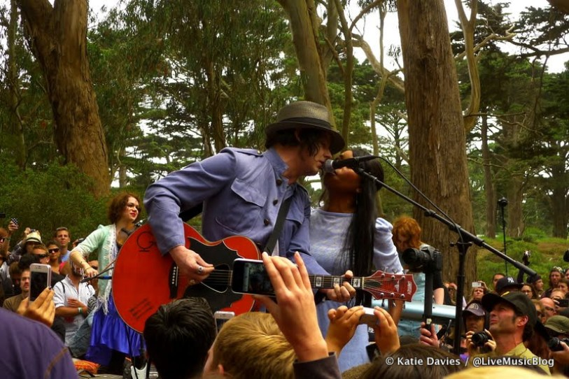 Jack White Pop-Up Show in the Woods @ Outside Lands 2012 || Photo © Katie Davies