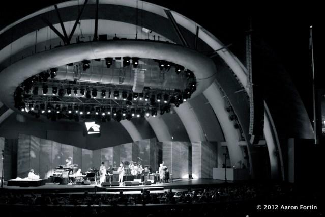 Hollywood Bowl 8/29/12 Celebrating Peace B/W