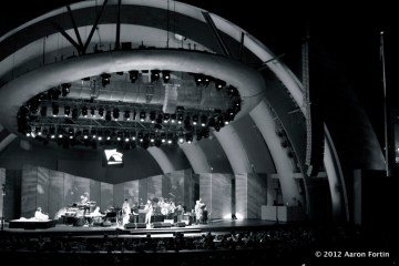 Hollywood Bowl 8/29/12 Celebrating Peace B/W