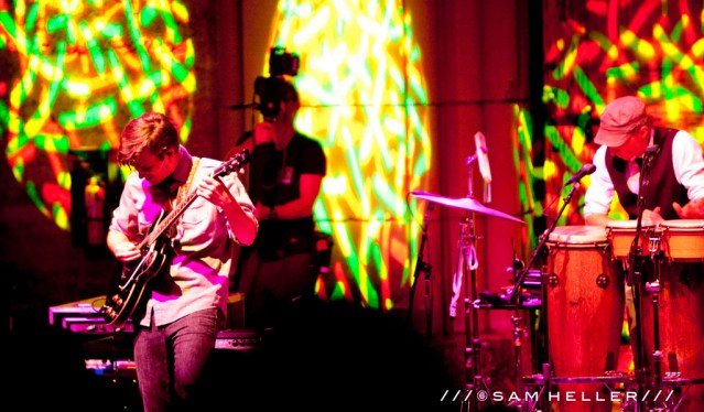 """STS9's """"Axe The Winery"""" @ Mountain Winery, Saratoga, CA - 8/25/12    Photo by Sam Heller"""