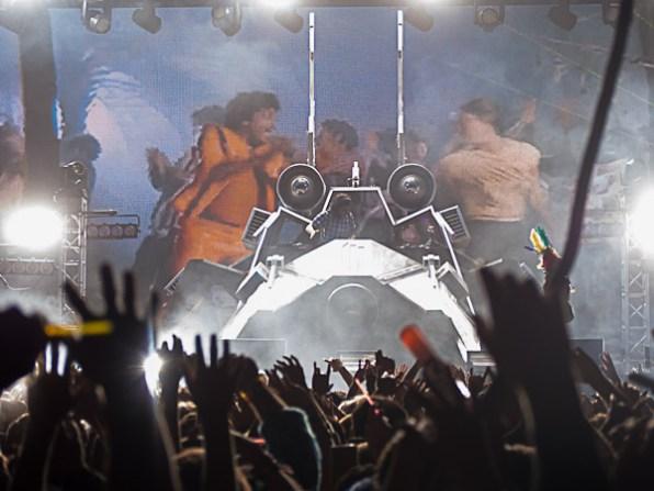 Skrillex @ Outside Lands 2012 || Photo by Jimmy Grotting
