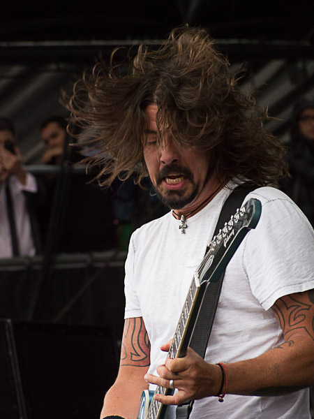 Foo Fighters @ Outside Lands 2012    Photo by Jimmy Grotting
