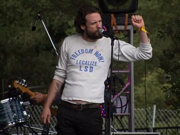Josh Tillman of Father John Misty @ Outside Lands 2012 || Photo by Jimmy Grotting