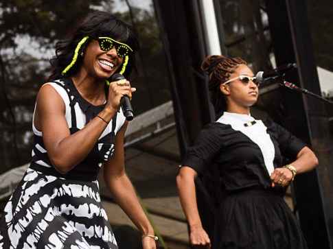 Santigold @ Outside Lands 2012 || Photo by Jimmy Grotting