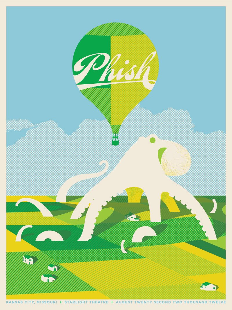 Setlist Tweets Phish Starlight Theatre Kansas City Mo 8 22 12 Live Music Blog