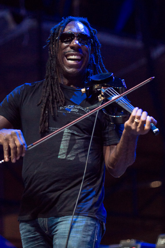 Boyd Tinsley with Michael Franti and Spearhead