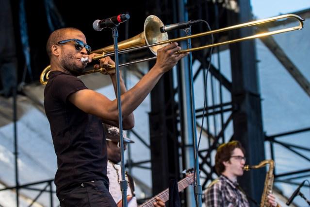 Trombone Shorty & Orleans Avenue @ 2012 Life is good Festival || Photo by Craig J. Sandor