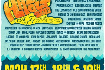 fake hangout fest poster