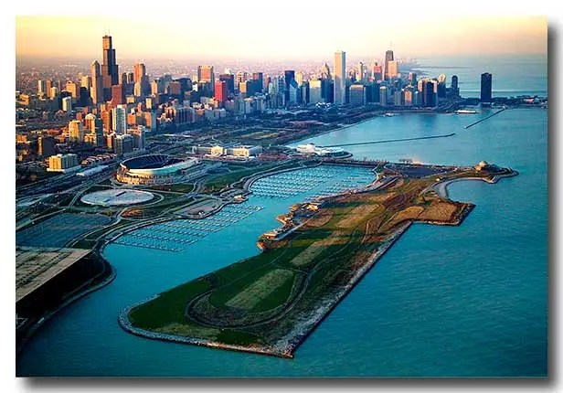 Northerly Island, Chicago
