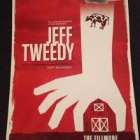 jeff tweedy fillmore poster