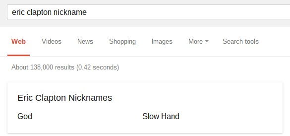 eric clapton nickname   Google Search