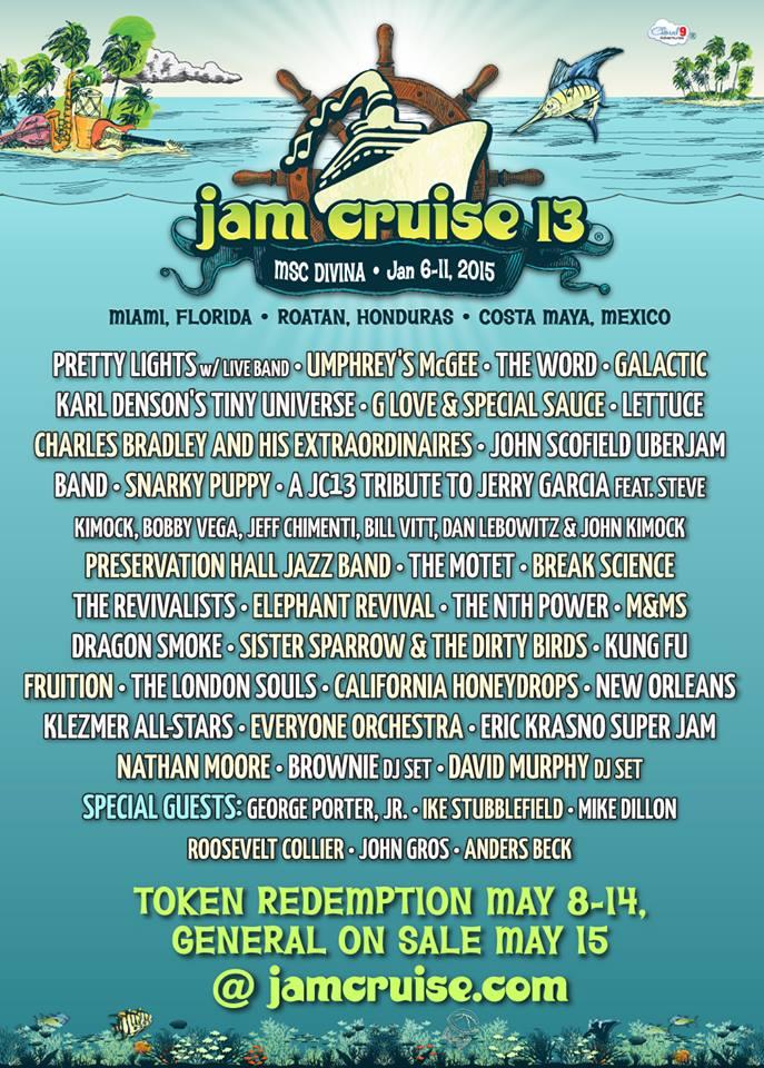 jam cruise lineup announced