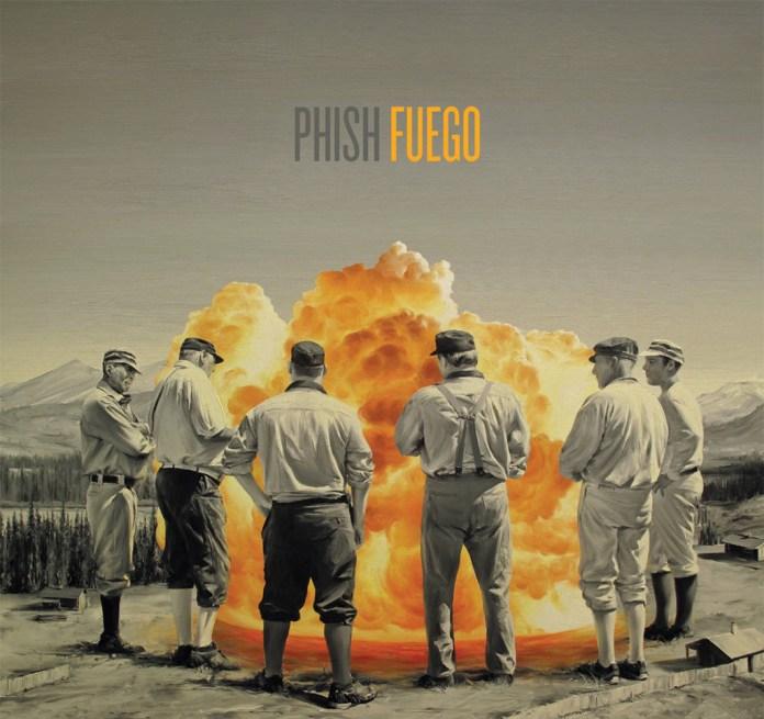 phish fuego cover