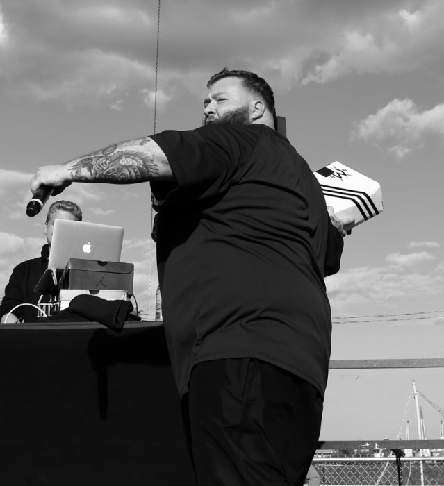 Action Bronson @ Roots Picnic 2014