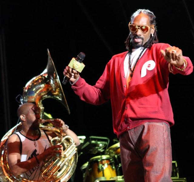 Snoop Dogg @ Roots Picnic 2014