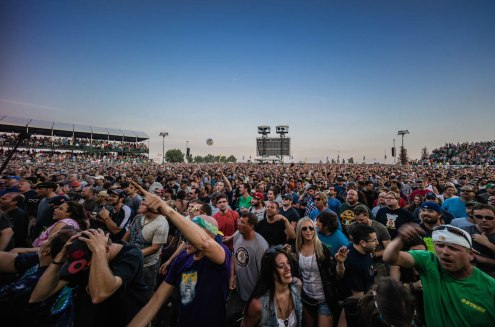 Phish @ Northerly Island, Chicago 2014 | Photo by Sam Nicholls