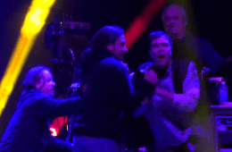 madman rushes stage and assaults widespread panic   YouTube