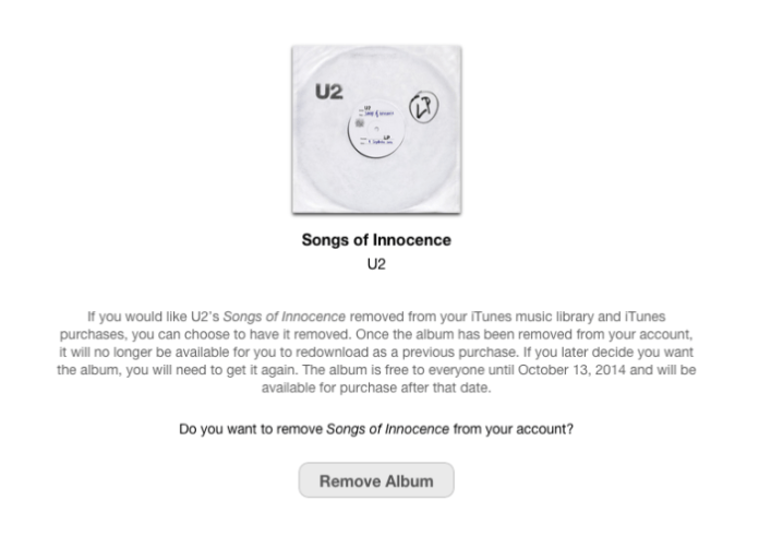 music history apple u2 kill switch
