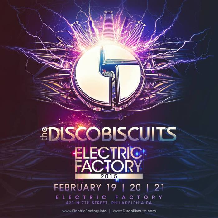 disco biscuits electric factory 2015