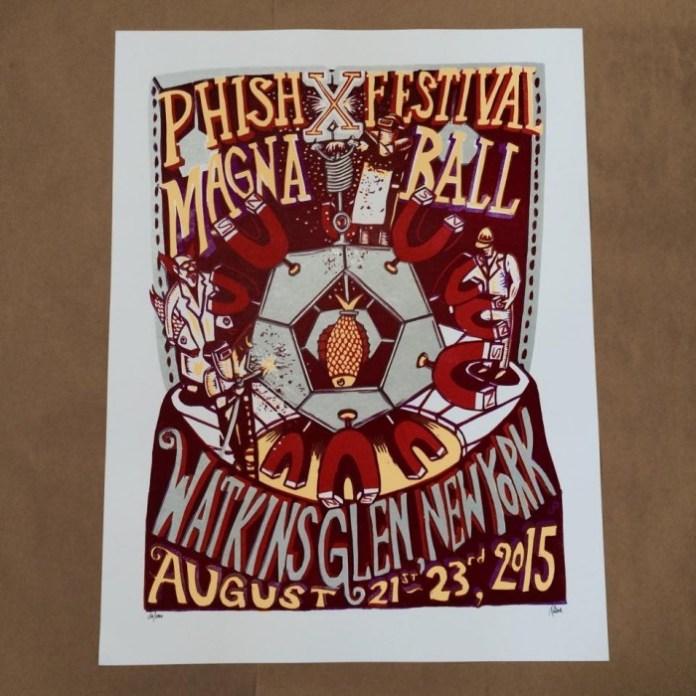 Magnaball   Poster by Jim Pollock