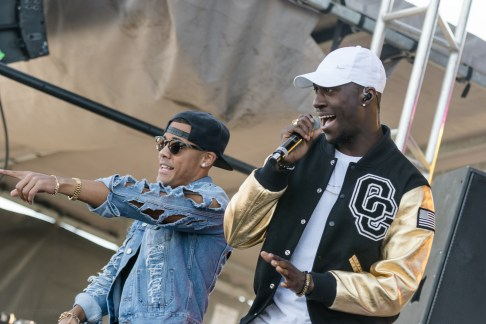 Nico & Vinz performing at LouFest in St. Louis on Saturday September 12, 2015.