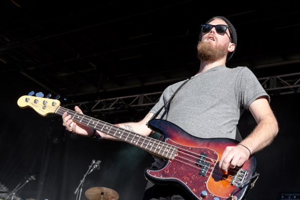 Strand of Oaks performing at LouFest in St. Louis on Sunday September 13, 2015.