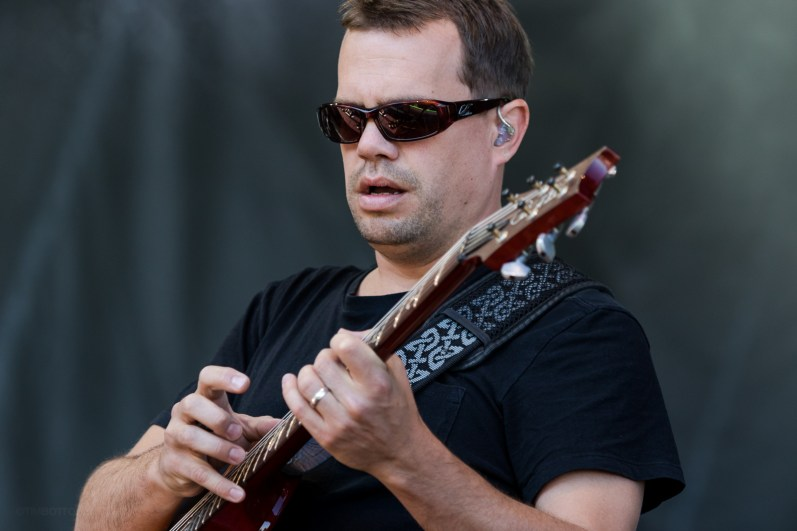 Umphrey's McGee performing at LouFest in St. Louis on Sunday September 13, 2015.