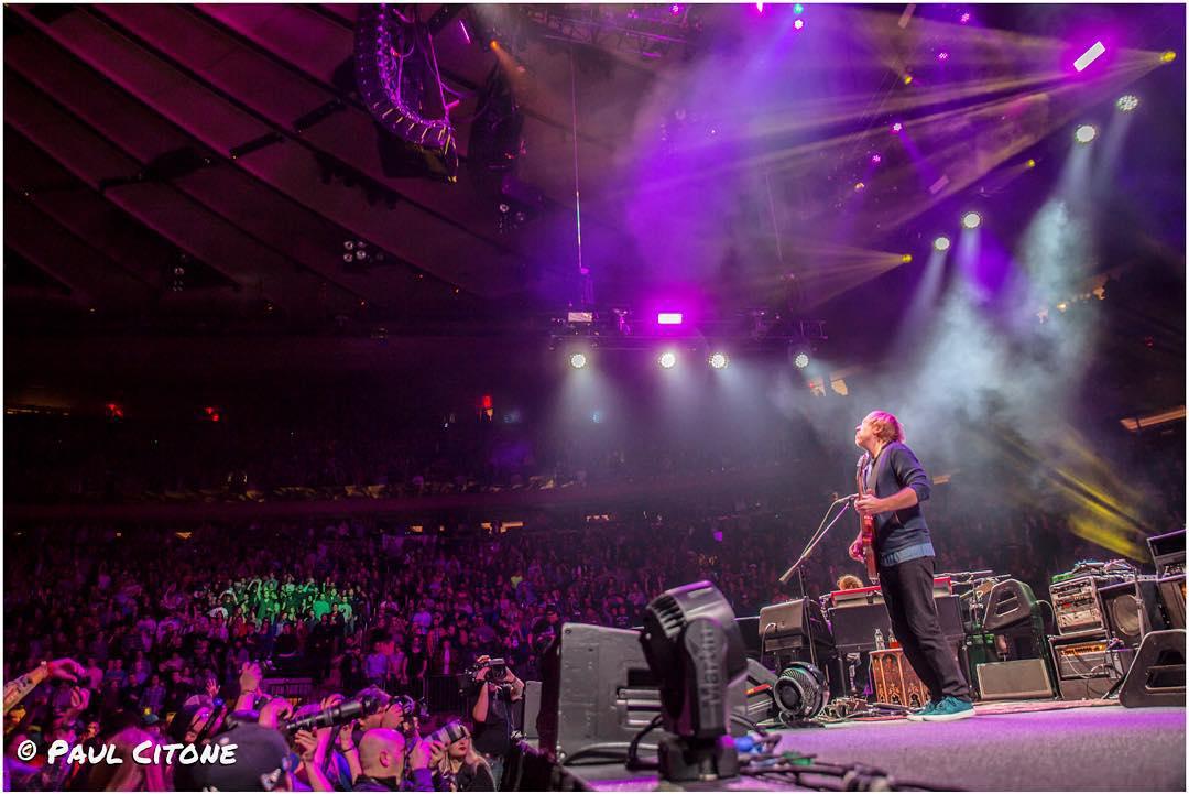 Setlist Tweets Phish Madison Square Garden Nyc Live Music Blog