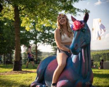 Lovely unicorn ride