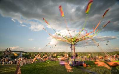 Not a ferris wheel. Not a merri-go-round. Definitely a carnival ride.