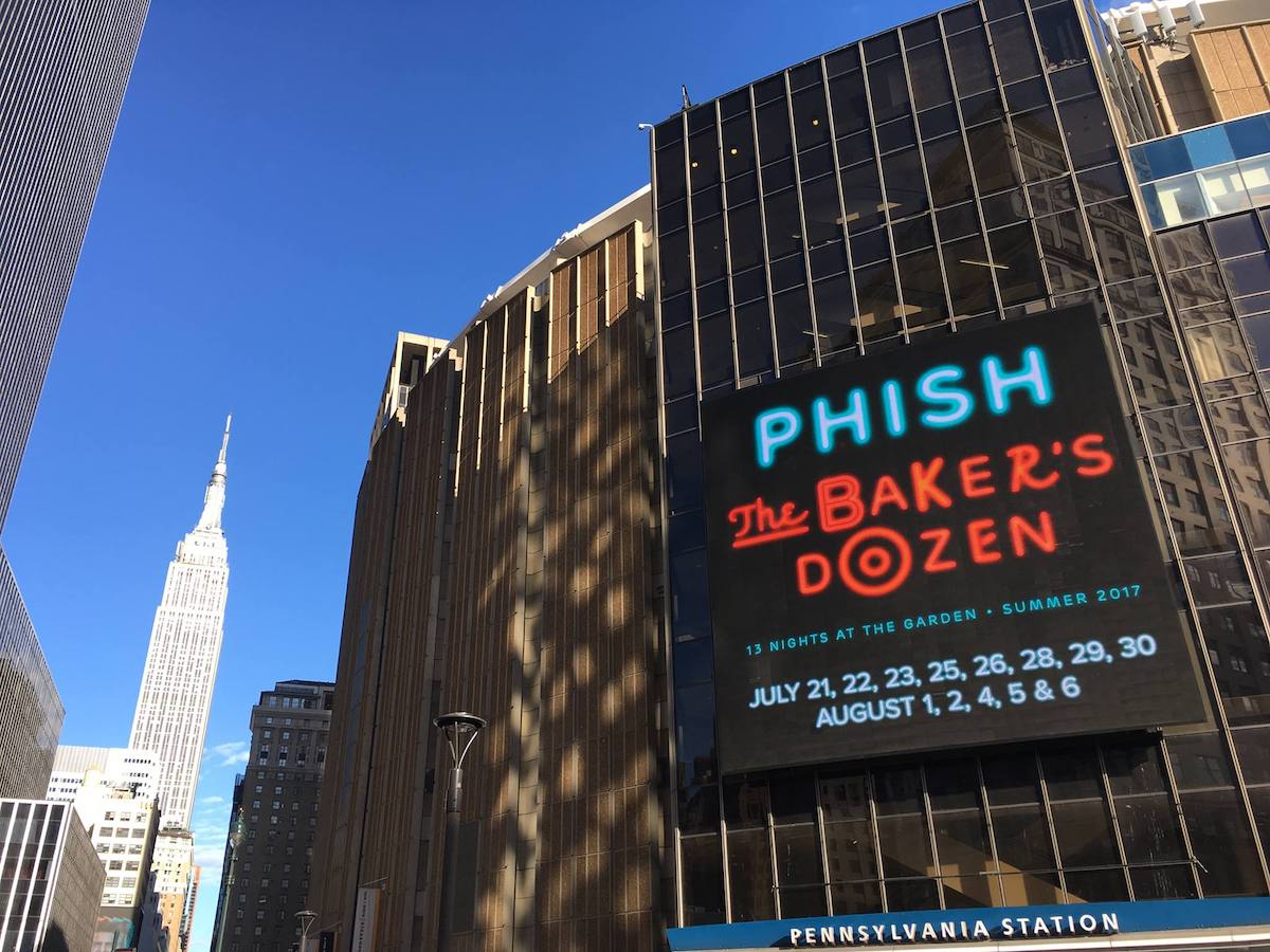Setlist Tweets Photos Phish The Baker 39 S Dozen Madison Square Garden Nyc Live Music Blog