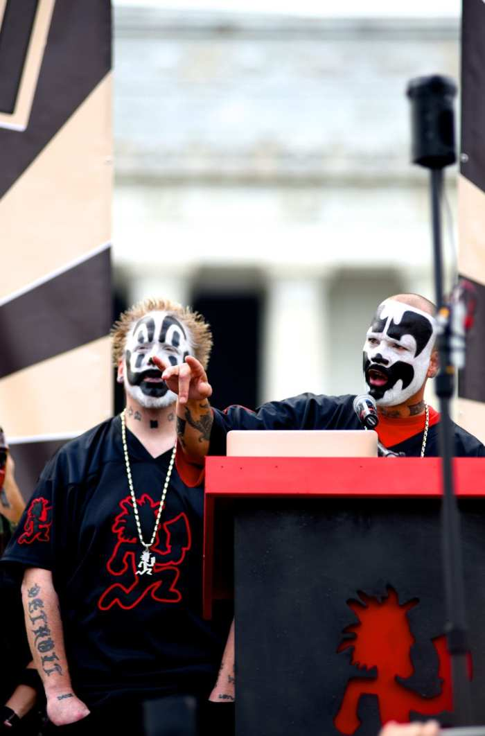 juggalos more then a music Juggalos, who are believed to number more than 1 million in the united states, have been enduring harassment over their musical tastes and cultural proclivities since the mid-90s many grew up on the margins, in the crumbling industrial towns of the midwest, and formed tight familial bonds around the.