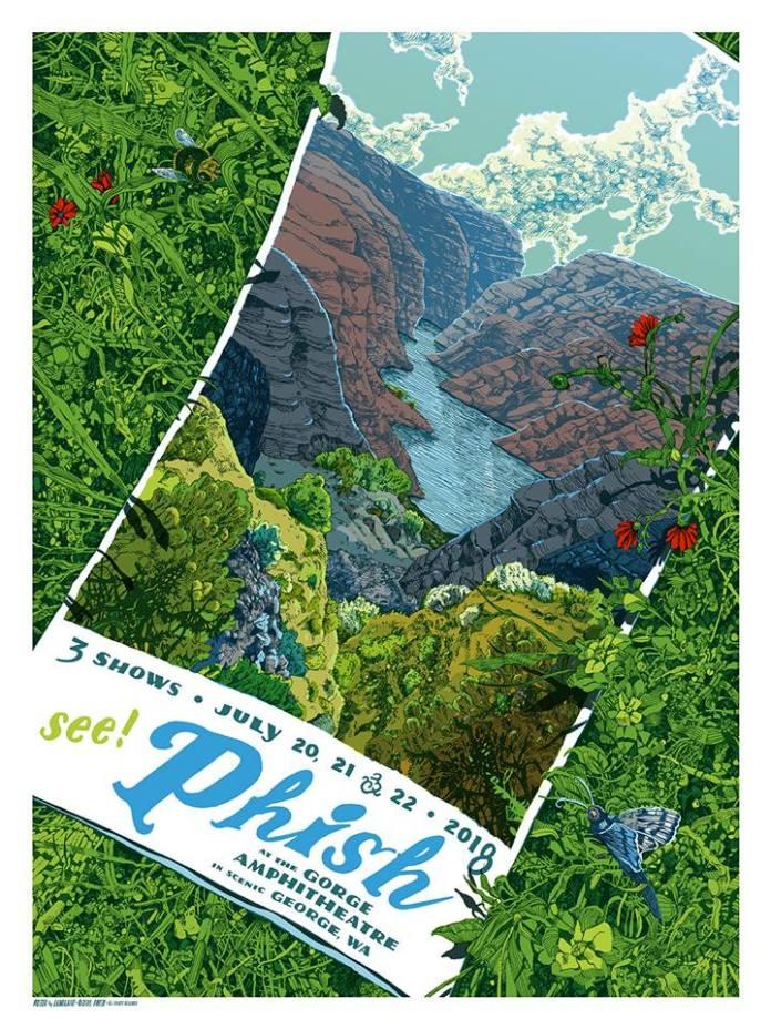feece4a9e435 SETLIST   TWEETS  Phish   The Gorge Amphitheatre