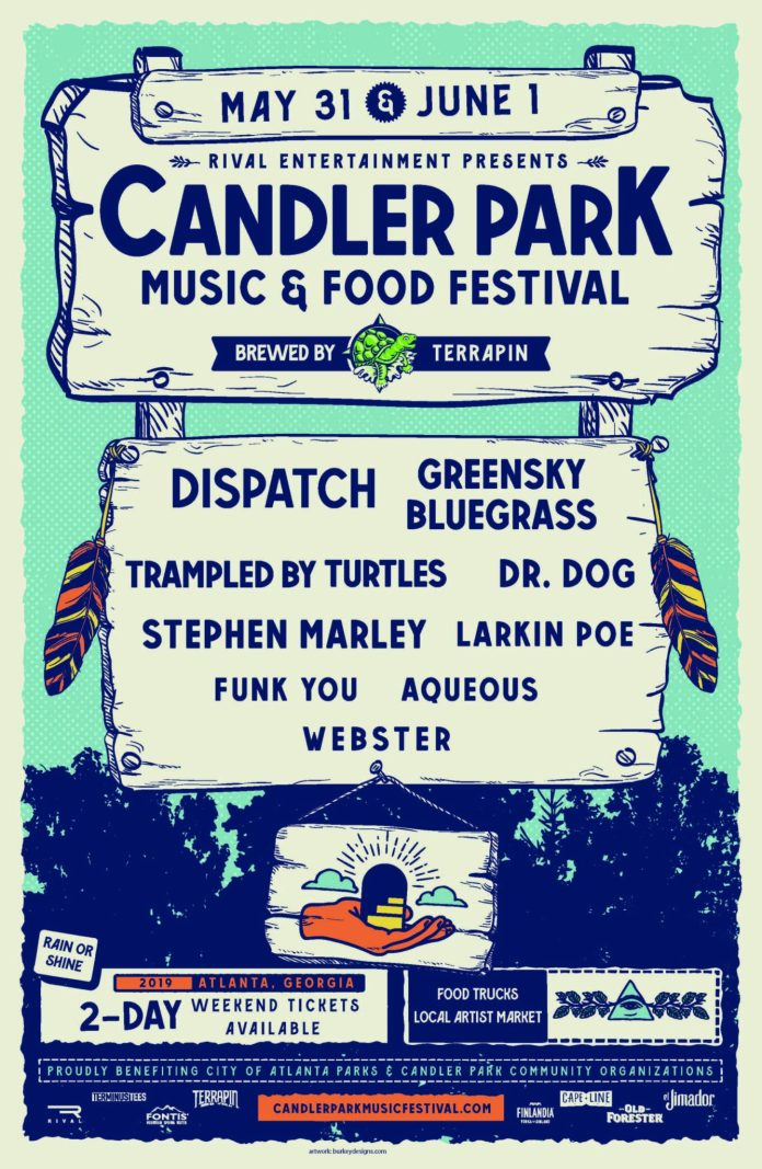 candler-park-music-food-festival-announces-2019-lineup-dispatch-greensky-bluegrass-dr. Dog, Trampled by Turtles, Stephen Marley & More