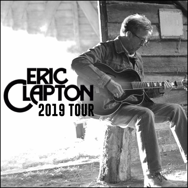 eric clapton announces 2019 tour dates