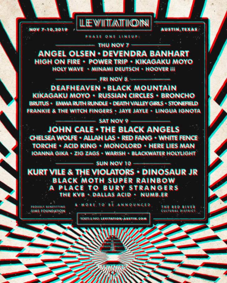 levitation festival announces 2019 lineup
