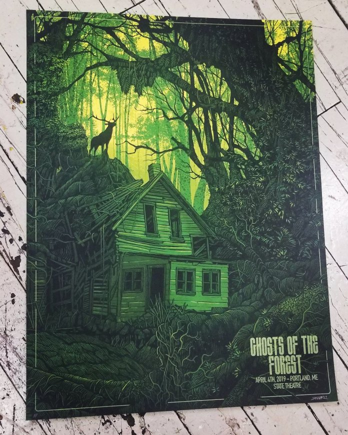 ghosts of the forest poster portland maine